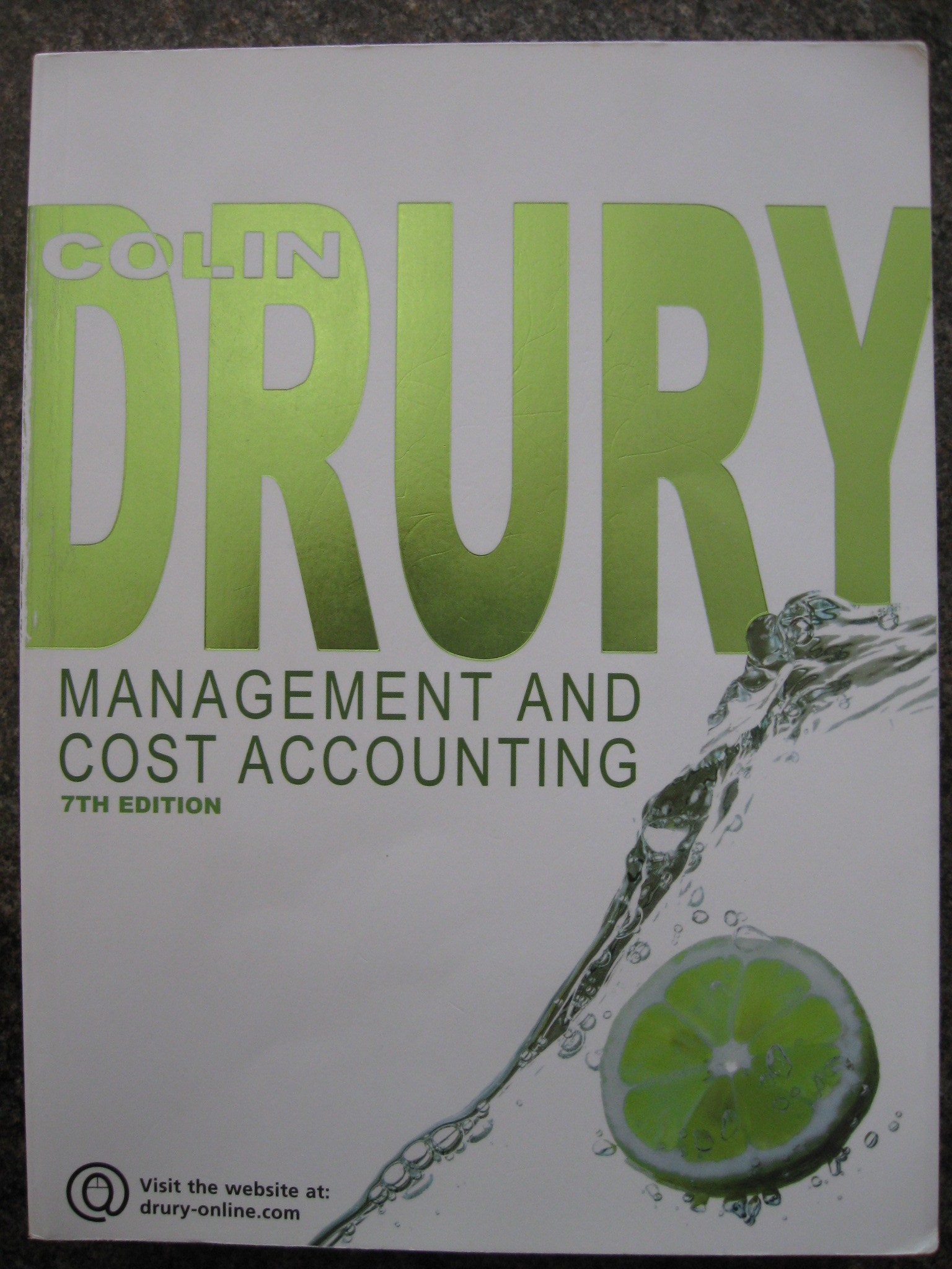 colin drury management and cost accounting case studies Management and cost accounting:  colin drury 404 avg rating  the material on the role of management accounting information-ten new case studies and further.
